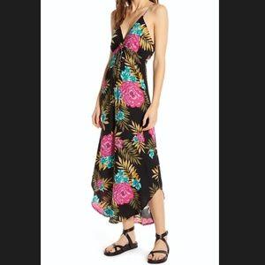 NWOT- Billabong Curve Hem Maxi Dress - M